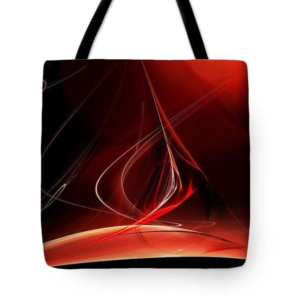 Sailing With The Firewind Tote Bag by Menega Sabidussi