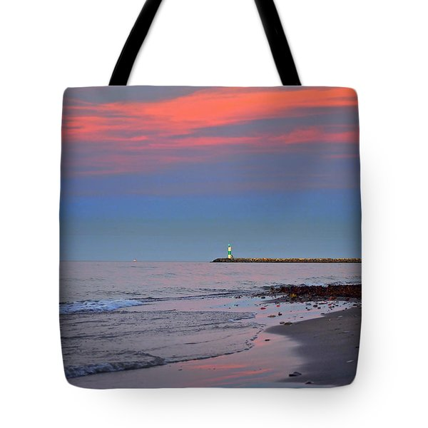 Sailors Guide Tote Bag by Frozen in Time Fine Art Photography