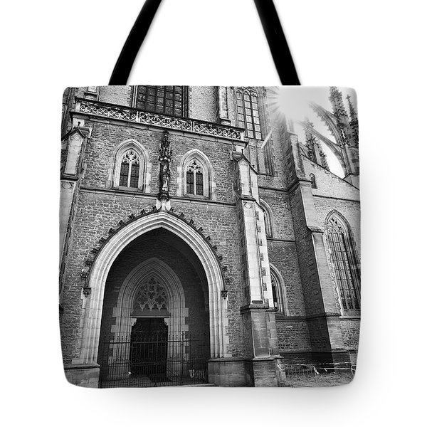 Saint Barbara's Church Tote Bag by Michal Boubin