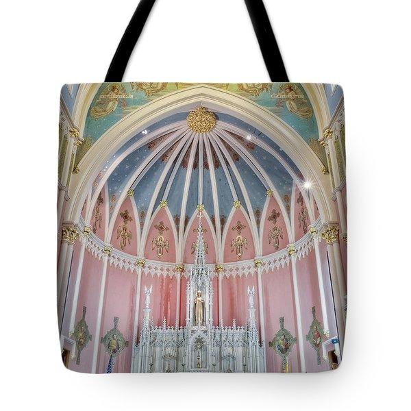 Saint Bridgets Altar Tote Bag by Susan Candelario
