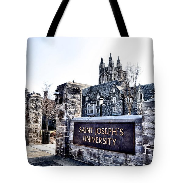 Saint Josephs University Tote Bag by Bill Cannon