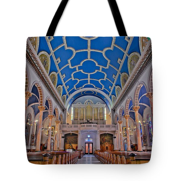 Saint Michaels Church Tote Bag by Susan Candelario