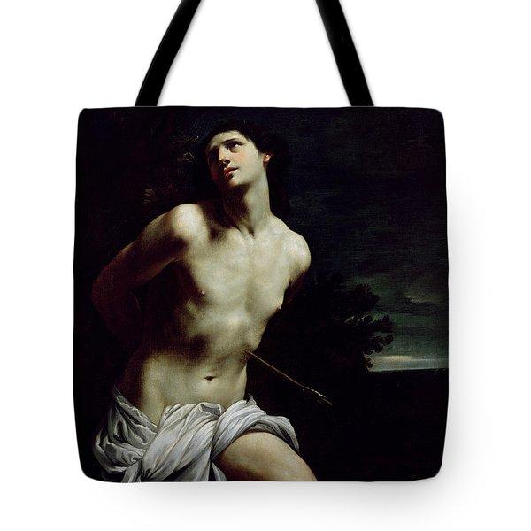 Saint Sebastian Tote Bag by Guido Reni