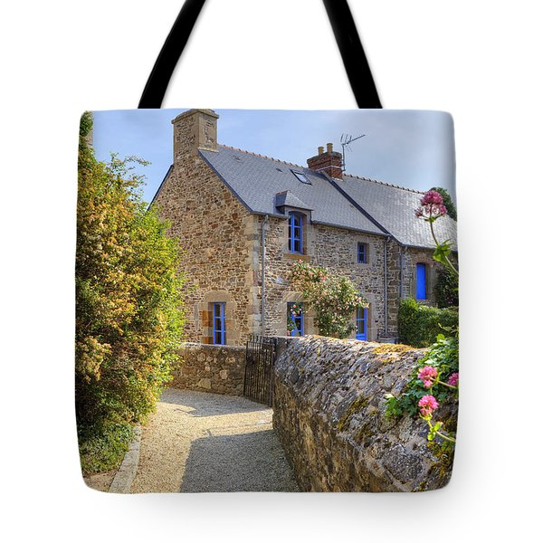Saint-suliac - Brittany Tote Bag by Joana Kruse