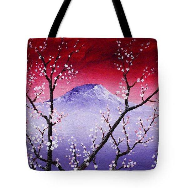 Sakura Tote Bag by Anastasiya Malakhova