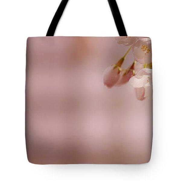 Sakura Tote Bag by Lisa Knechtel