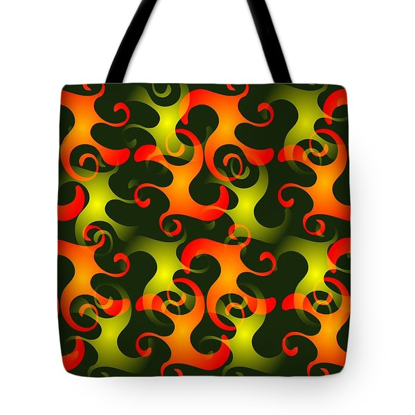 Salamanders Dream Tote Bag by Anastasiya Malakhova
