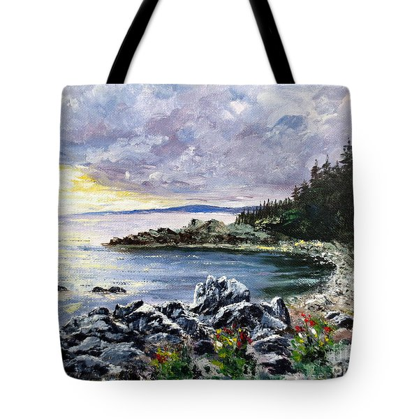 Salisbury Cove Tote Bag by Lee Piper