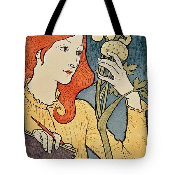Salon Des Cent Tote Bag by Eugene Grasset