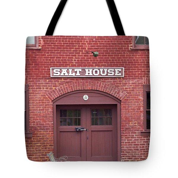 Salt House Jonesborough Tennessee Tote Bag by Frank Romeo