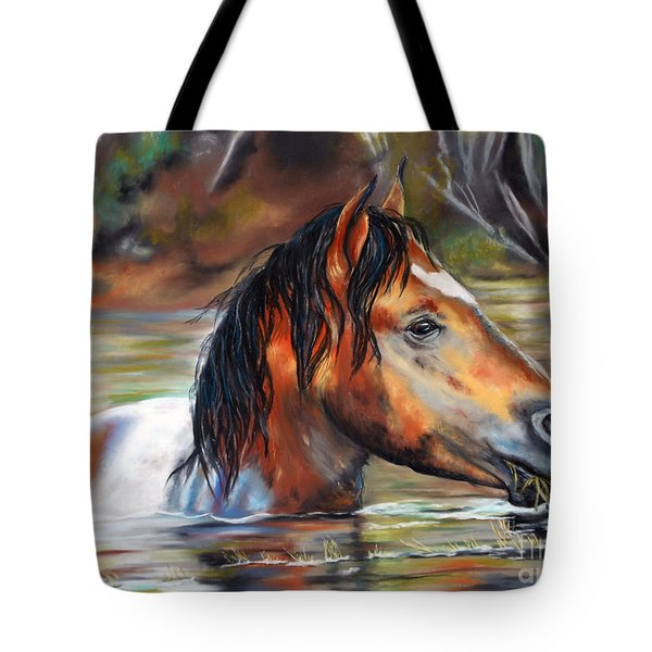Salt River Tango Tote Bag by Karen Kennedy Chatham