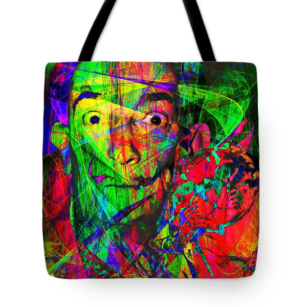 Salvador Dali 20130613 Tote Bag by Wingsdomain Art and Photography