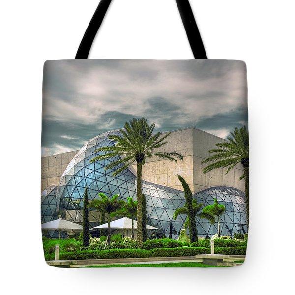 Salvador Dali Museum Tote Bag by Mal Bray