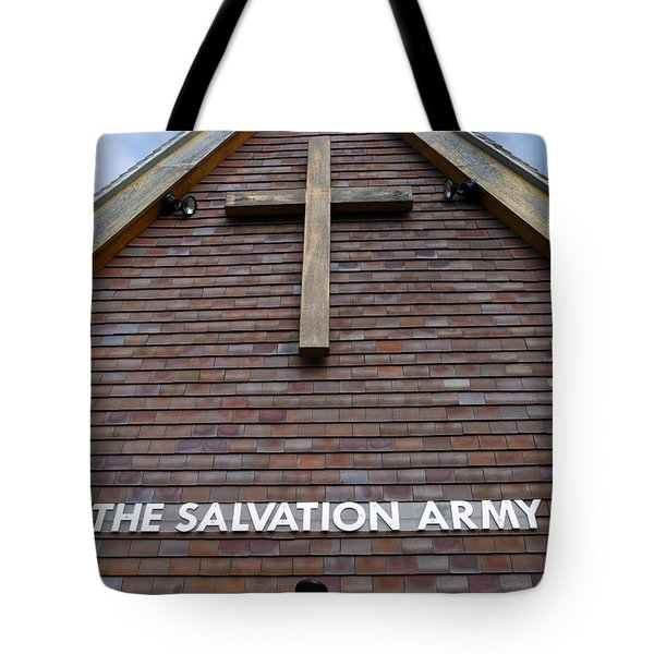 Salvation Tote Bag by Doug Wilton