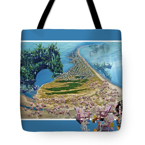 Sam and Topsail's Ghost Pirates  Tote Bag by Betsy C  Knapp