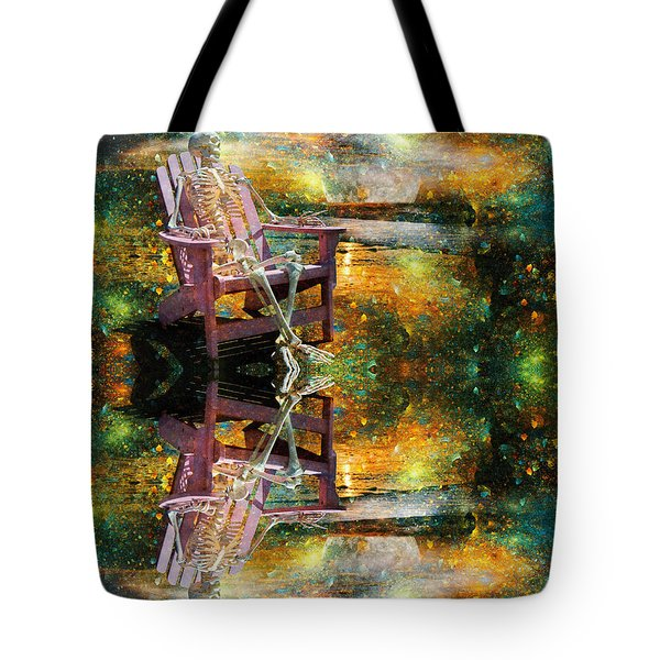 Sam Reflects On Karma Tote Bag by Betsy A  Cutler