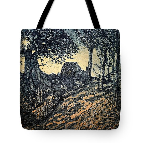 Sam's Early Morn Tote Bag by Lyndsey Hatchwell