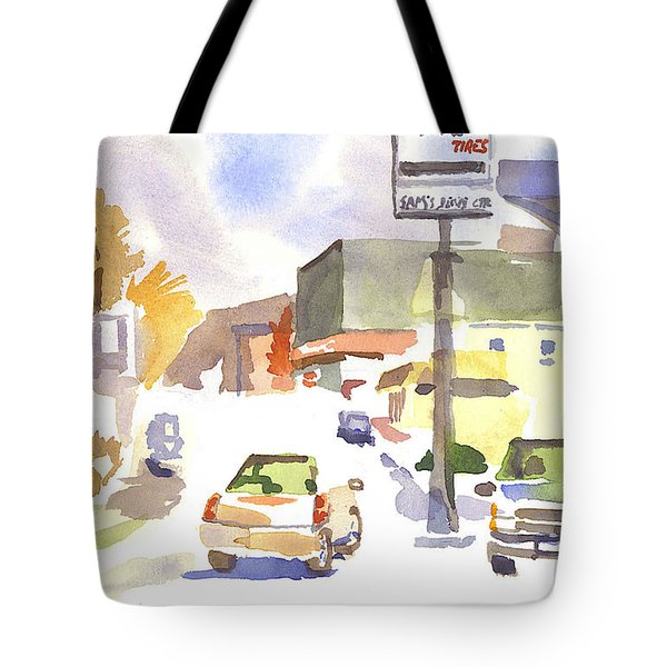 Sam's Service Tote Bag by Kip DeVore