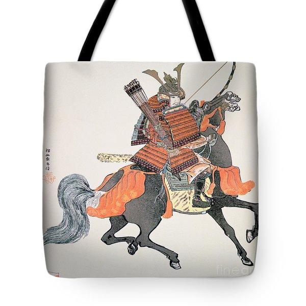 Samurai Tote Bag by Japanese School