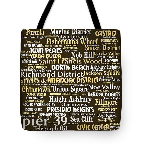 San Francisco 20130710bwwa85 Tote Bag by Wingsdomain Art and Photography