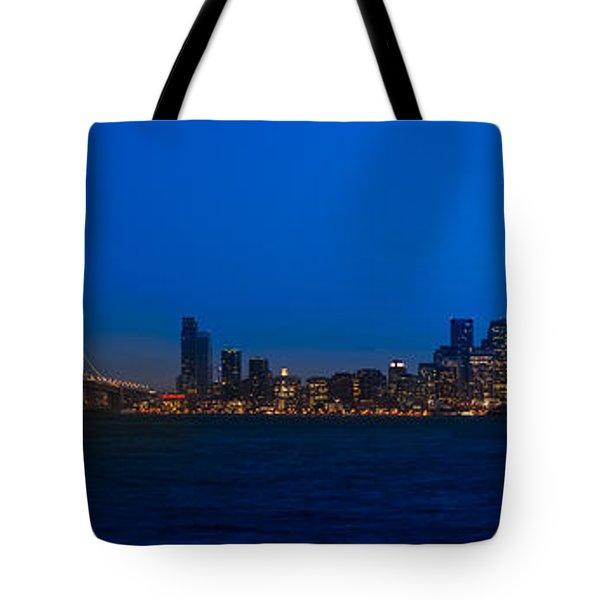 San Francisco Bay Tote Bag by Steve Gadomski