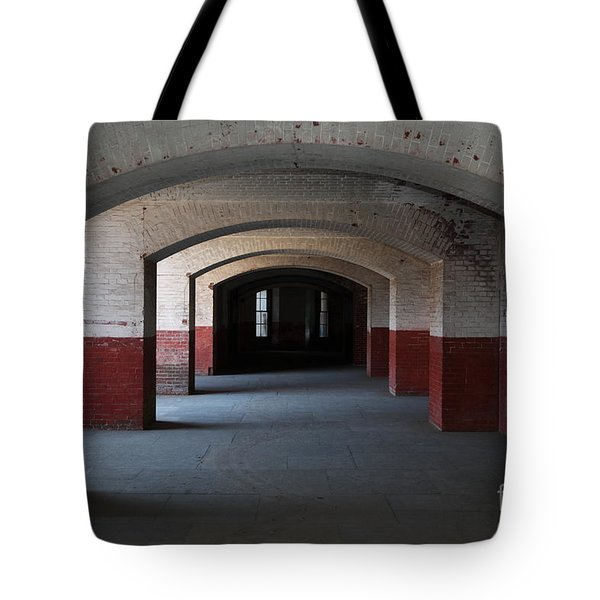 San Francisco Fort Point 5D21544 Tote Bag by Wingsdomain Art and Photography
