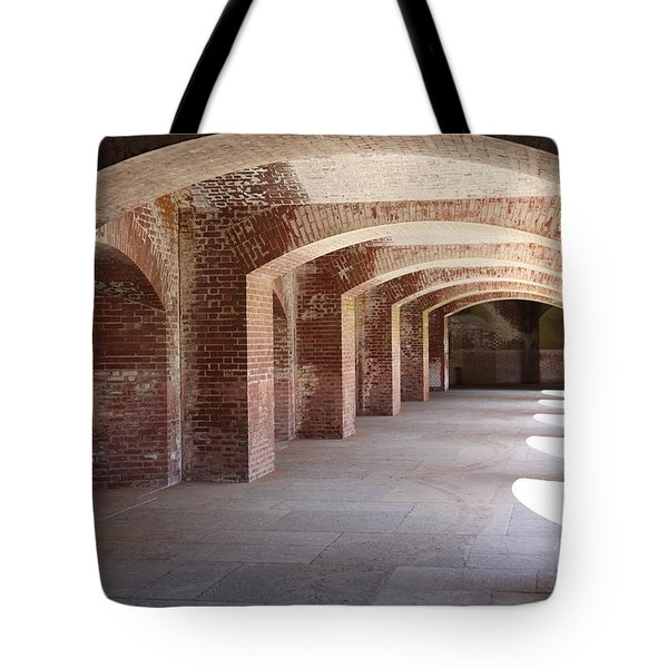San Francisco Fort Point 5D21545 Tote Bag by Wingsdomain Art and Photography