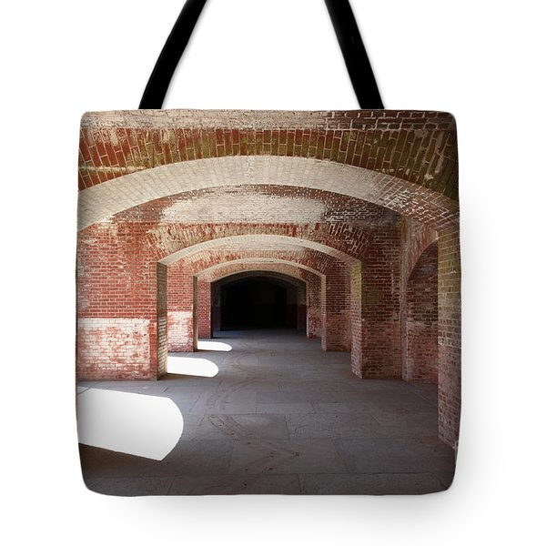 San Francisco Fort Point 5d21546 Tote Bag by Wingsdomain Art and Photography