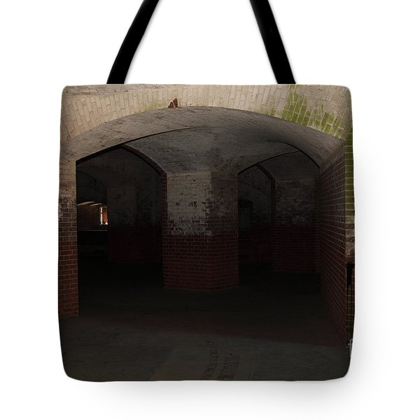 San Francisco Fort Point 5D21548 Tote Bag by Wingsdomain Art and Photography