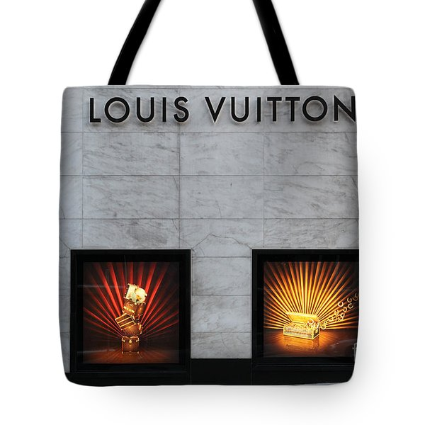 San Francisco Louis Vuitton Storefront - 5D20546 Tote Bag by Wingsdomain Art and Photography