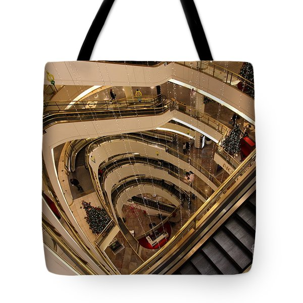 San Francisco Nordstrom Department Store - 5d20639 Tote Bag by Wingsdomain Art and Photography
