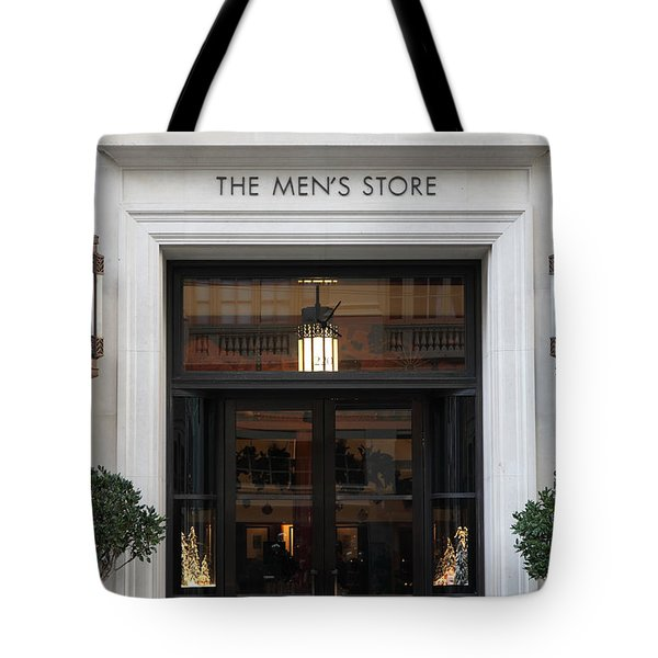 San Francisco Saks Fifth Avenue Store Doors - 5d20573 Tote Bag by Wingsdomain Art and Photography