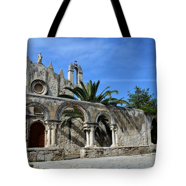 San Giovanni alle catacombe in Siracusa Tote Bag by RicardMN Photography