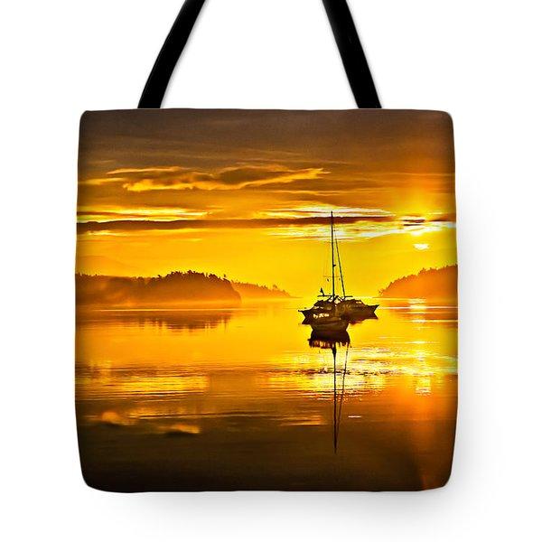 San Juan Sunrise Tote Bag by Robert Bales