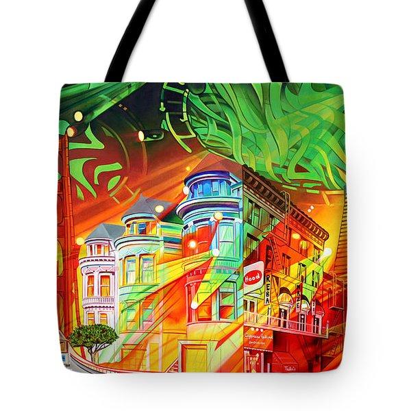 San Phranphisco Tote Bag by Joshua Morton