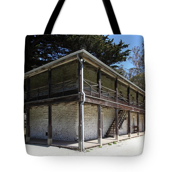 Sanchez Adobe Pacifica California 5D22642 Tote Bag by Wingsdomain Art and Photography