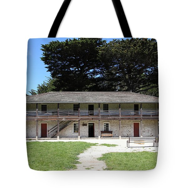 Sanchez Adobe Pacifica California 5D22644 Tote Bag by Wingsdomain Art and Photography