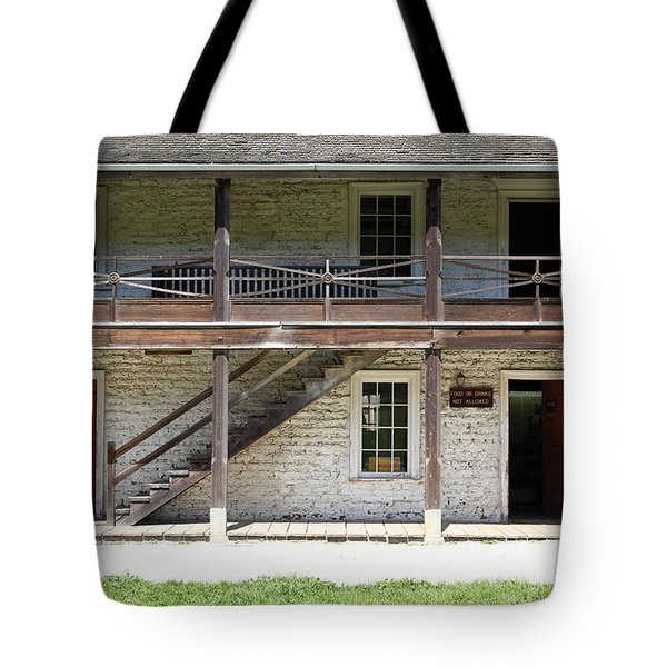 Sanchez Adobe Pacifica California 5D22655 Tote Bag by Wingsdomain Art and Photography