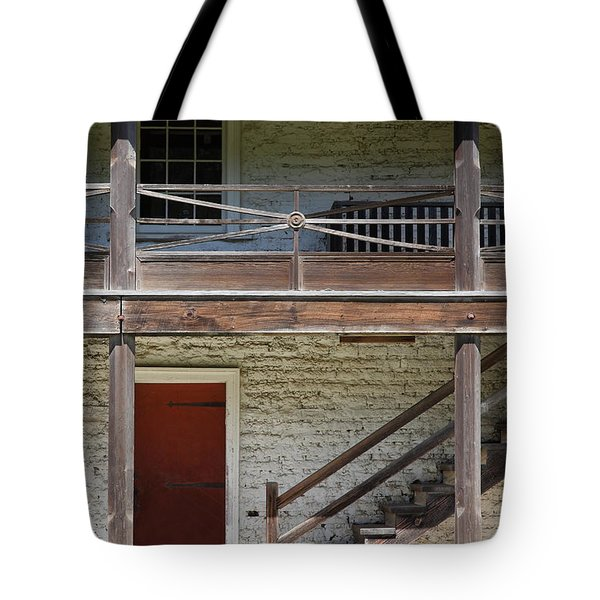 Sanchez Adobe Pacifica California 5D22657 Tote Bag by Wingsdomain Art and Photography