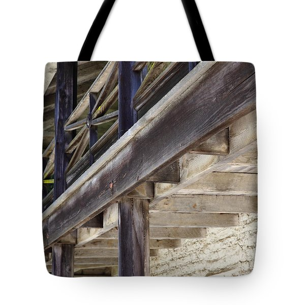 Sanchez Adobe Pacifica California 5D22658 Tote Bag by Wingsdomain Art and Photography