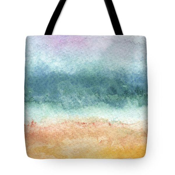 Sand And Sea Tote Bag by Linda Woods