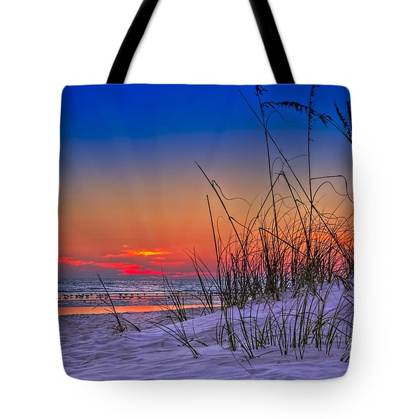 Sand And Sea Tote Bag by Marvin Spates
