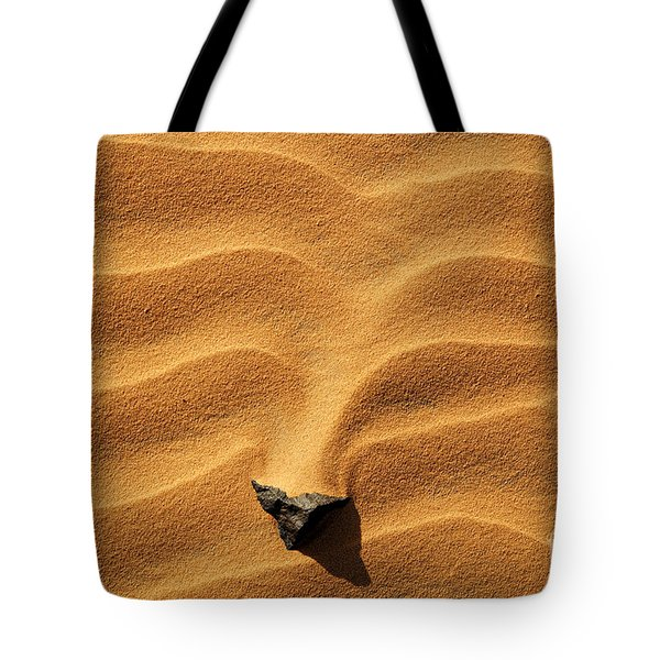 Sand And Stone Tote Bag by Robert Preston