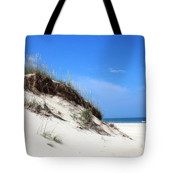 Sand Dunes of Corolla Outer Banks OBX Tote Bag by Design Turnpike