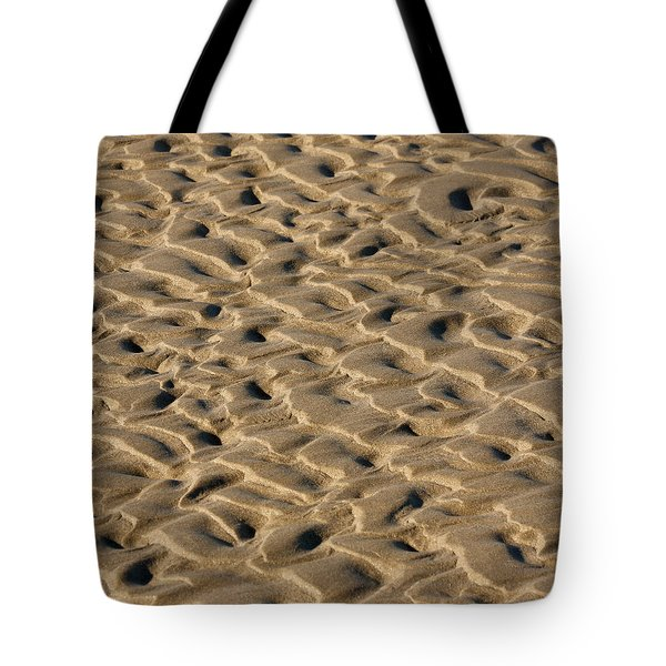 Sand Patterns Tote Bag by Art Block Collections