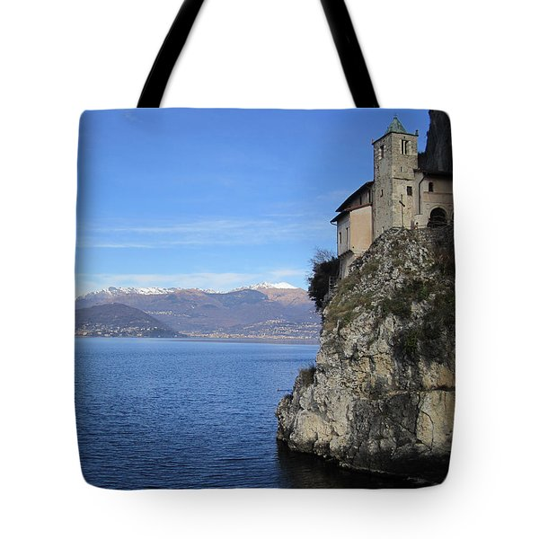 Tote Bag featuring the photograph Santa Caterina - Lago Maggiore by Travel Pics