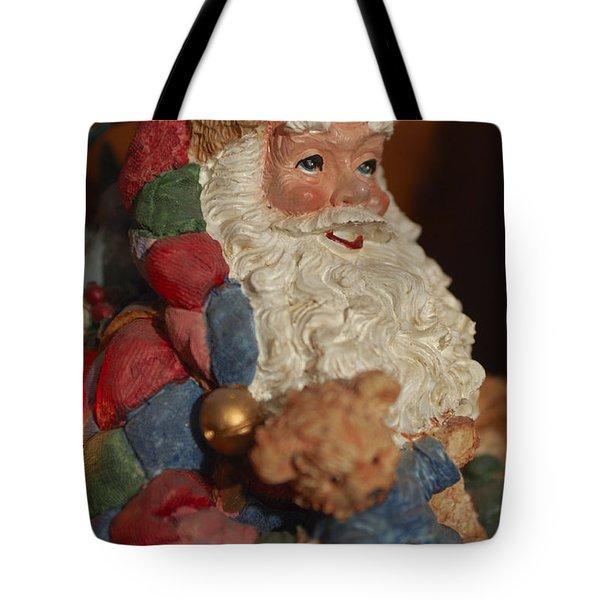 Santa Claus - Antique Ornament - 03 Tote Bag by Jill Reger