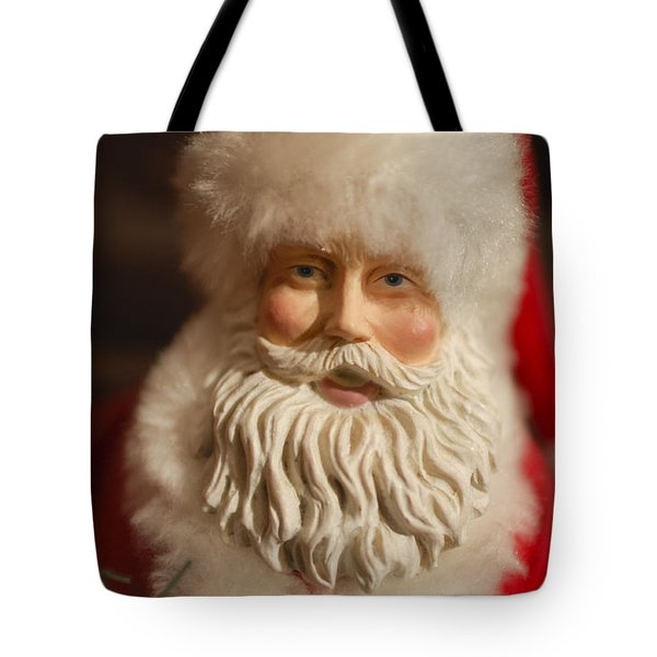 Santa Claus - Antique Ornament - 07 Tote Bag by Jill Reger