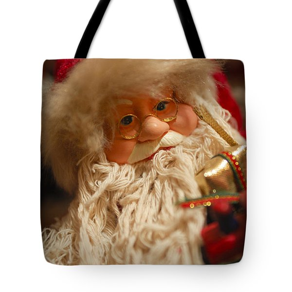 Santa Claus - Antique Ornament - 08 Tote Bag by Jill Reger