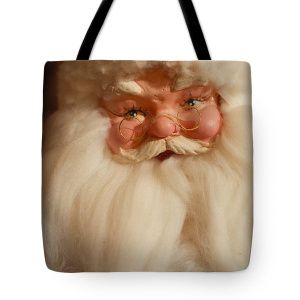 Santa Claus - Antique Ornament - 14 Tote Bag by Jill Reger